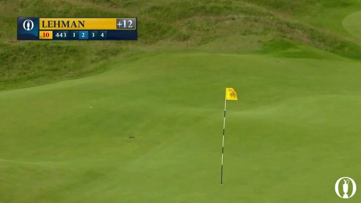El resumen de la segunda jornada del British Open de golf
