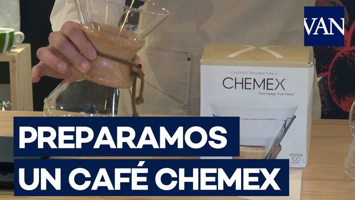 Así se hace un café Chemex