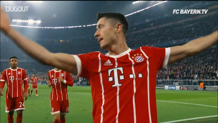 All Of Lewandowski's Champions League Goals for Bayern