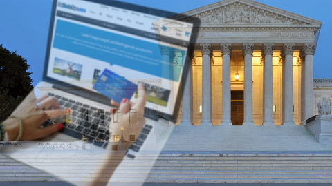 SCOTUS Rules on  Online Sales Tax