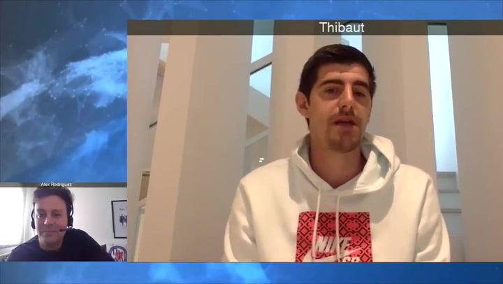 Courtois aclara sus palabras sobre la Liga y el merecimiento del Barcelona para ganarla