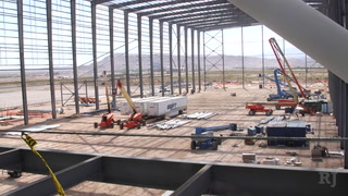A look at the Raiders headquarters under construction in Henderson