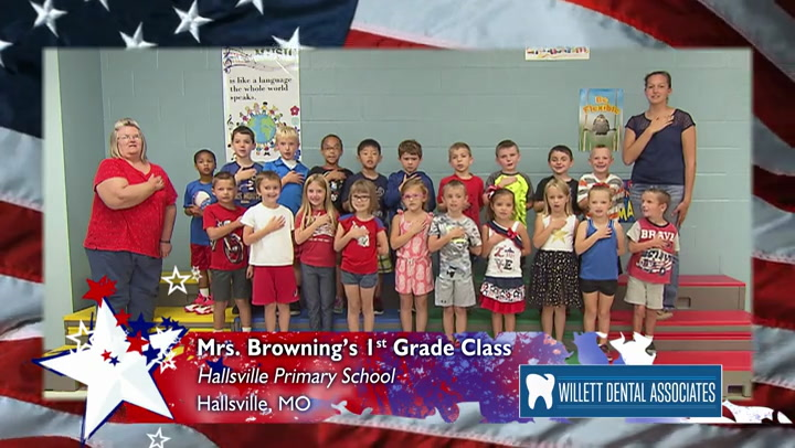 Hallsville Primary - Mrs. Browning - 1st Grade