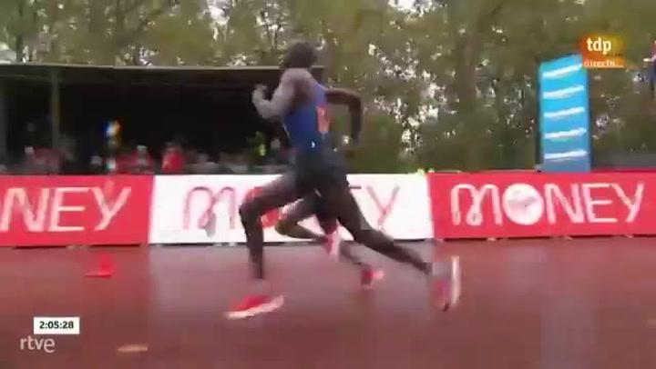 Emocionante final en la Maratón de Londres