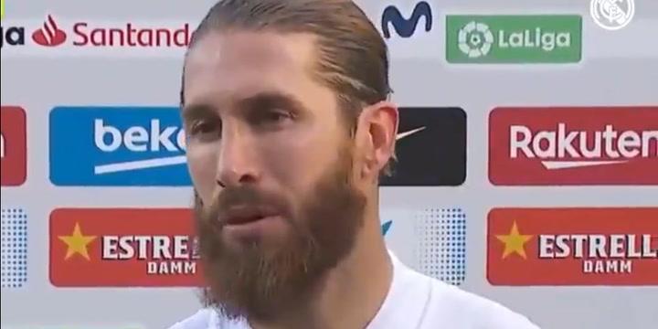 Sergio Ramos habló tras el Clásico