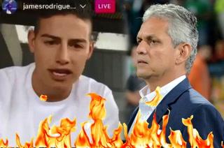 James Rodríguez explota ante Rueda: