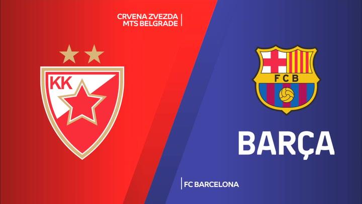 Euroliga: Estrella Roja - FC Barcelona