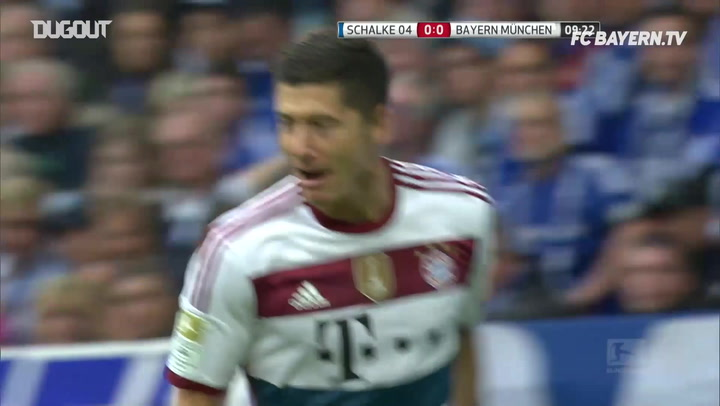 Throwback: Robert Lewandowski's First FC Bayern Goal