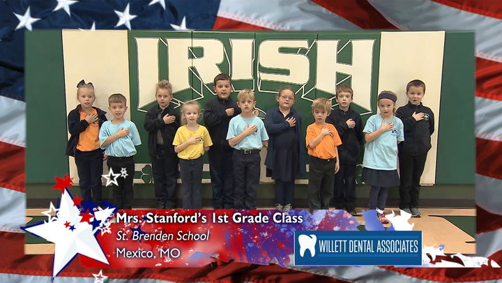 St. Brendan - Mrs. Stanford - 1st Grade