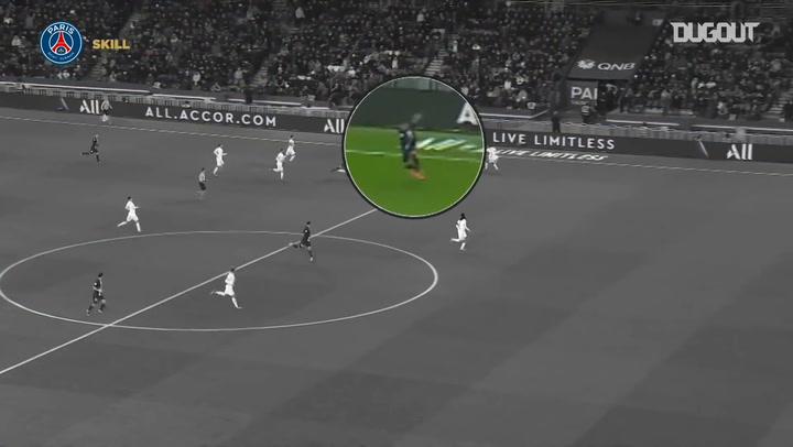 Kylian Mbappé's superb skill vs Lyon