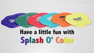 Splash O' Color Coaster