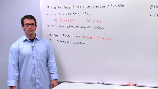 Continuous Functions - Problem 1
