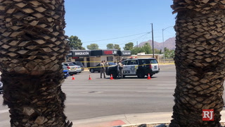 Two men were stabbed Thursday morning at a central Las Vegas home – Video