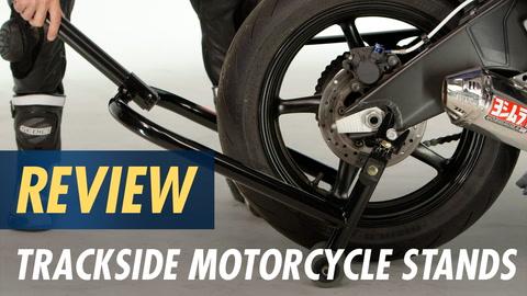 A-pro Front Bike Paddock Stand Back Wheel Lift Chock Garage Motorcycle Motorbike