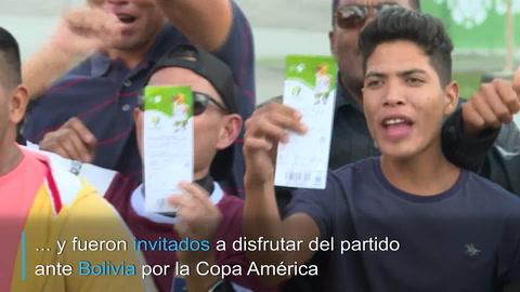 Historias de hinchas: migrantes venezolanos en Brasil acompañan a la