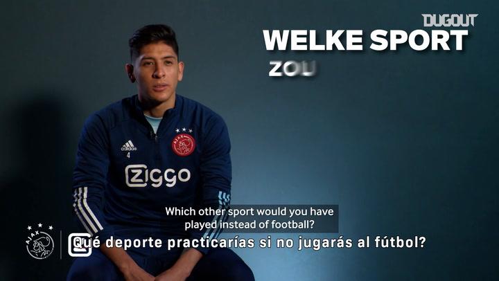 Q&A with Edson Álvarez