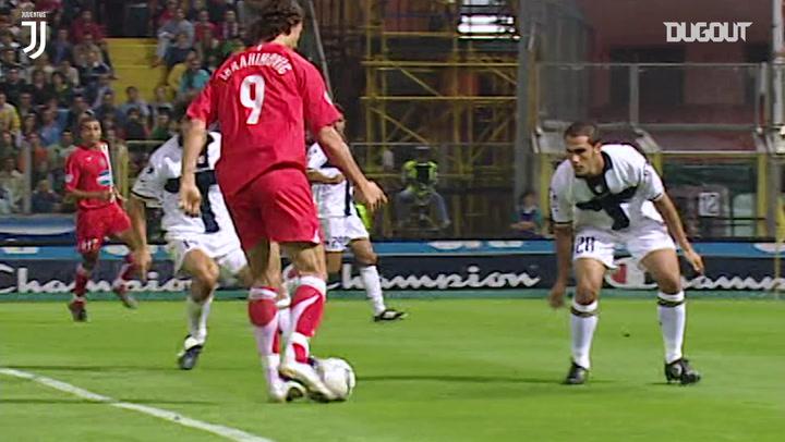 Best Assists: Ibrahimović For Vieira Vs Parma