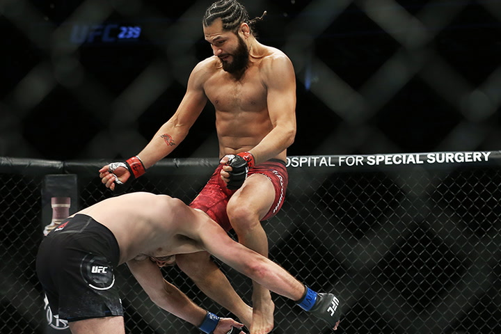 Ufc 239 Masvidal Makes Ufc History With 5 Second Knockout Video Las Vegas Review Journal