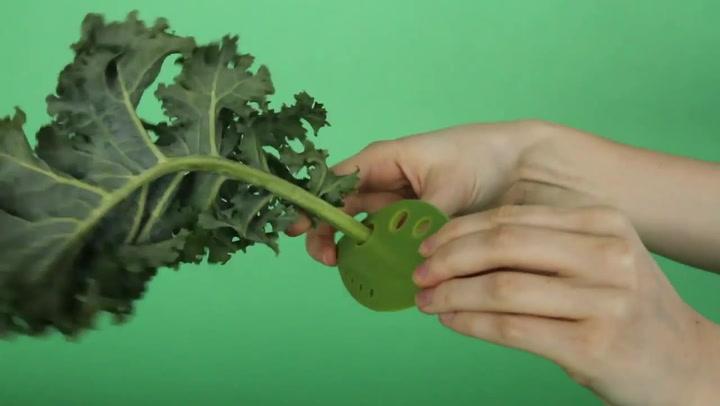 Preview image of Chef'n Looseleaf Plus Greens & Herb Stripper & Cut video