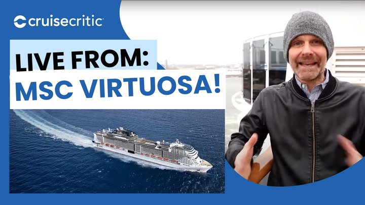 LIVE From MSC Virtuosa! Embarkation, the Buffet, COVID Protocols and MORE!