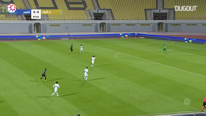 Highlights: Ittihad Kalba 3-3 Al-Nasr