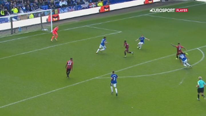 Highlights: Niasse snyder Bournemouth og sikrer Everton sejren!