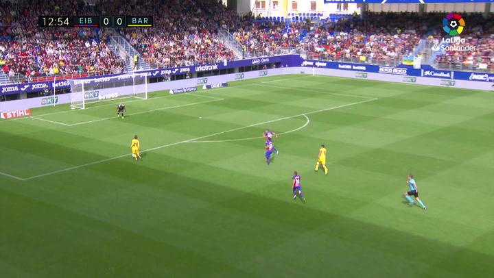 Gol de Griezmann (0-1) en el Eibar 0-3 Barcelona