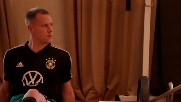La selección alemana, preparada para el atractivo duelo ante una Argentina sin Messi