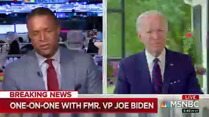 MSNBC's Melvin to Biden: In Light of Minneapolis Shouldn't You Choose Woman of Color as VP?
