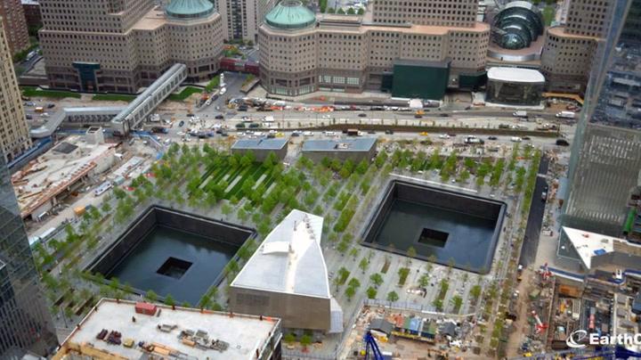 Her bygges 9/11-museet på to minutter