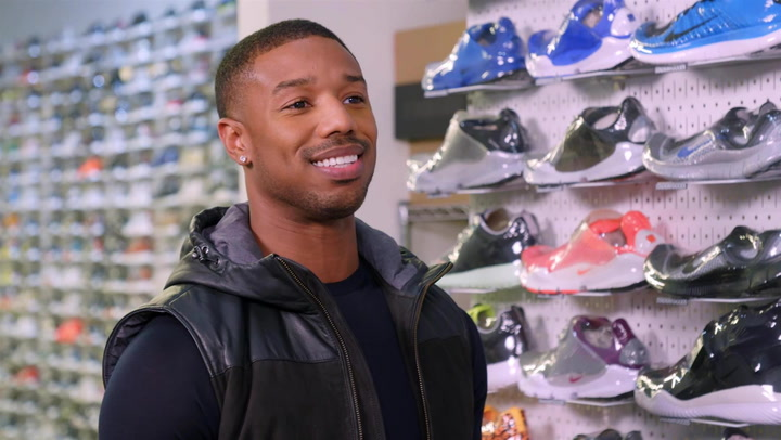 Michael B Jordan: Sneaker Shopping