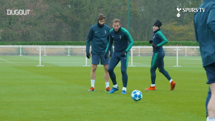 Harry Kane Prepares For Inter