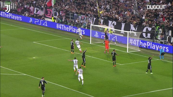 Alvaro Morata's Champions League semi-final goal vs Real Madrid