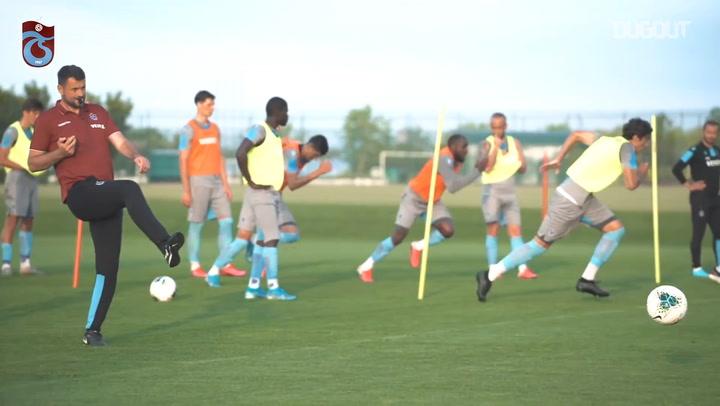 Trabzonspor Return to Training