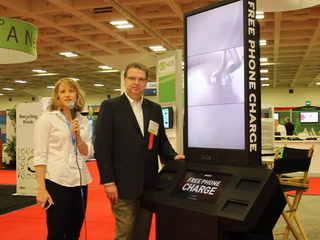 CETW: Cell-phone charging kiosk