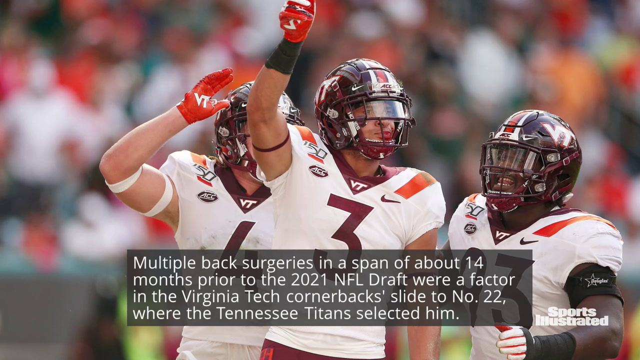 Caleb Farley Passes Physical With Tennessee Titans