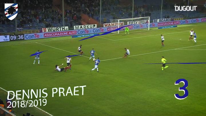 Sampdoria'nın Kendi Evine Bologna'ya Attığı En İyi Üç Gol