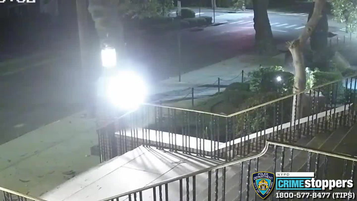 NYPD seeking suspect who smashed church statues