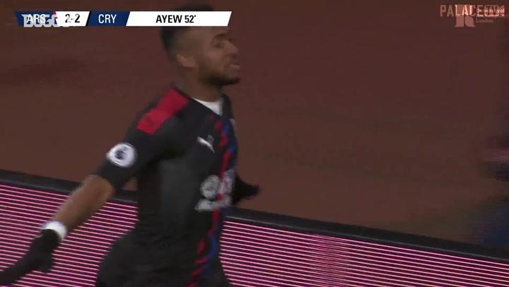 أفضل أهداف كريستال بالاس على ملعب الإمارات