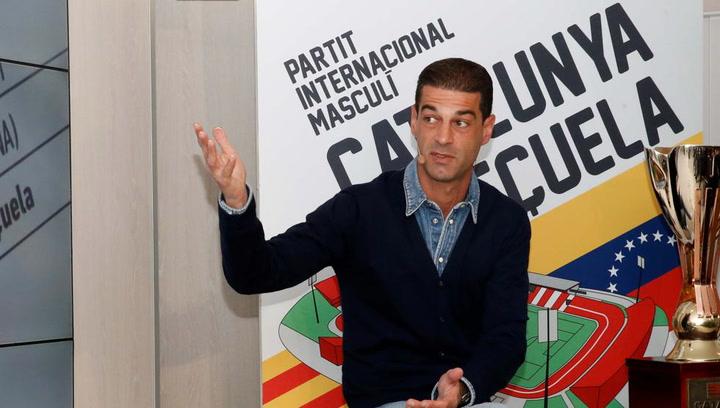 Presentación de la convocatoria del Catalunya - Venezuela