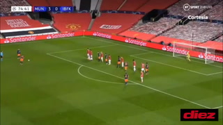 Manchester United gana 4-1 al Basaksehir y queda a un paso de los octavos