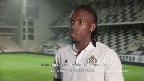 Alberth Elis brinda su primera entrevista como jugador del Boavista:
