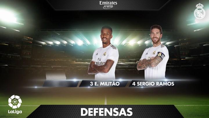 Los 19 convocados para el encuentro frente a Osasuna-Real Madrid