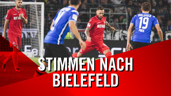 Stimmen nach Bielefeld