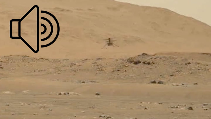 Hear Ingenuity fly on Mars with enhanced audio captured by Perseverance