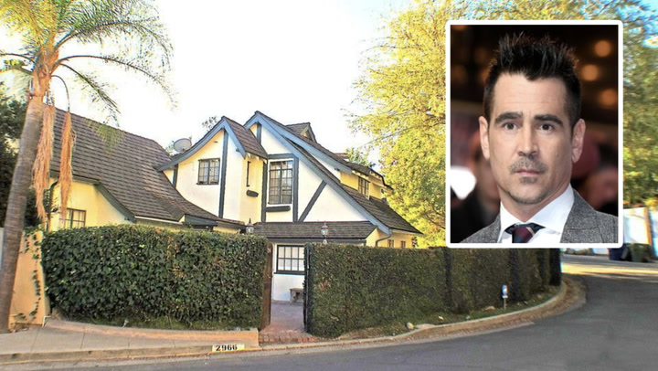 Colin Farrell Sells His English Country Estate in the Hollywood Hills for $1.3M