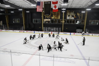 Golden Knights playing fast-paced hockey in return to practice – VIDEO