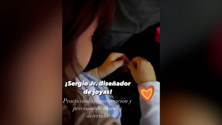 Pilar Rubio tiene competencia en casa: descubre quién le hace sombra diseñando... ¡joyas!