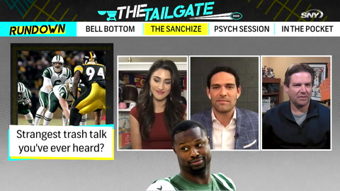 The Tailgate Extra: Mark Sanchez reveals the trash talk style of Bart Scott