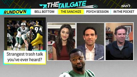 The Tailgate Extra: Mark Sanchez reveals the trash talk style of Bart Scott